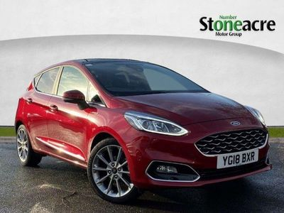 used Ford Fiesta 1.0T EcoBoost Vignale Hatchback 5dr Petrol Manual (s/s) (125 ps)