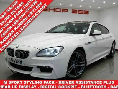 used BMW 640 6 Series 3.0 D ( 313 BHP) M SPORT GRAN COUPE 4DR STEPTRONIC AUTO..9,000 POUNDS E