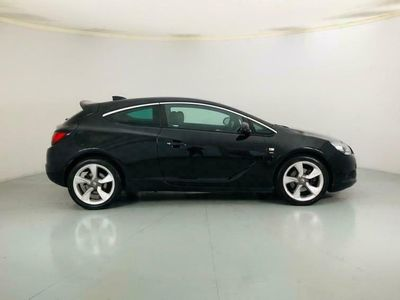 used Vauxhall Astra GTC coupe