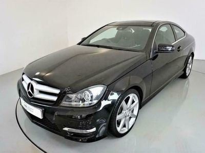 used Mercedes C250 C-CLASS 2.1CDI AMG SPORT EDITION 2d 202 BHP-2 OWNER diesel coupe