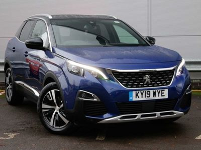 used Peugeot 3008 1.5 Bluehdi Gt Line 5Dr