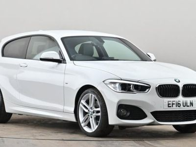used BMW 120 1 SERIES d M Sport 3dr Step Auto White Automatic Diesel