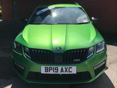 used Skoda Octavia 2.0 TDI CR vRS 5dr DSG [7 speed] [Black Pack]