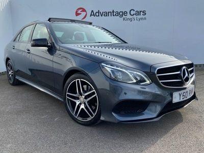 used Mercedes E220 E-ClassBluetec Amg Night Ed Premium 4Dr 7G-Tronic
