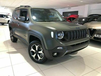 used Jeep Renegade 1.3 GSE T4 11kWh Trailhawk Auto 4xe (s/s) 5dr