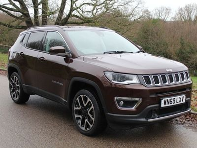 used Jeep Compass 1.4 [170] Petrol Limited 4x4 9 Speed Automatic 5dr