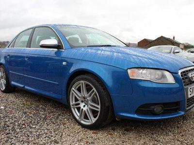 used Audi S4 4.2 quattro 4dr