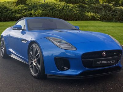 used Jaguar F-Type 3.0 (380) Supercharged V6 R-Dy Convertible 2019