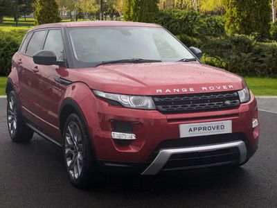 used Land Rover Range Rover evoque 2.2 Sd4 Dynamic 5Dr Auto [9]