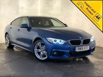 used BMW 418 Gran Coupé 4 Series Gran Coupe 2.0 d M Sport (s/s) 5dr