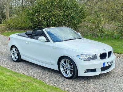 used BMW 123 Cabriolet 2.0 123D M SPORT 2d 202 BHP