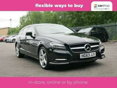 used Mercedes CLS250 CDI BlueEFFICIENCY AMG Sport 4dr Tip Auto Leather Seats 2.2
