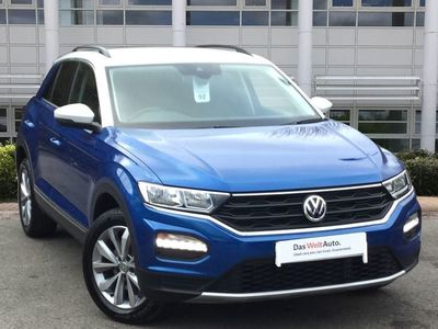 used VW T-Roc 2018 Warrington 1.5 TSI EVO Design 5dr