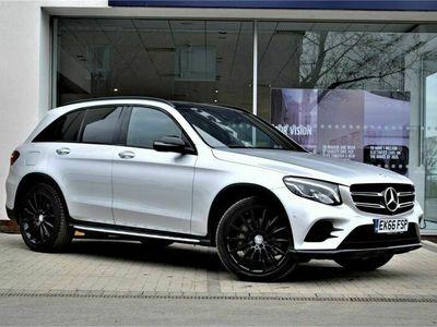 used Mercedes E250 GLC Class d 4Matic AMG Line Premium 5dr 9G-Tronic Estate 2016