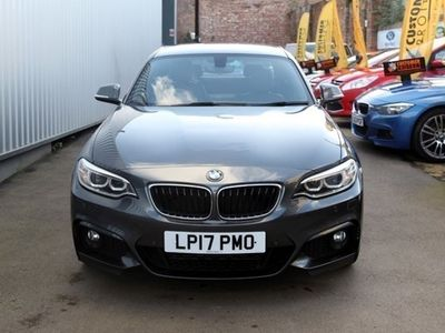 used BMW 220 2-Series Coupe d (190bhp) M Sport (Nav) 2d Step Auto