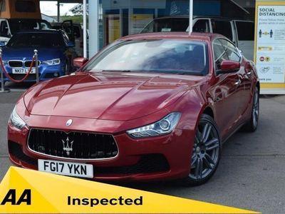 used Maserati Ghibli 3.0 V6 4d 330 BHP Full Service History