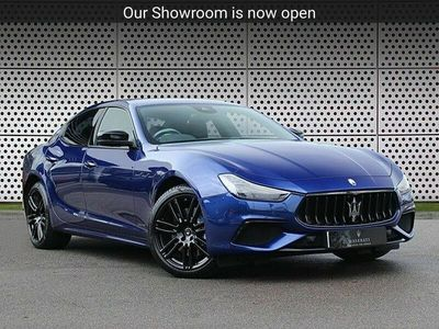 used Maserati Ghibli Hybrid GranSport Nerissimo Pack 4dr Auto 2.0