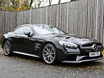 used Mercedes SL63 AMG 5.5 AMG2d 577 BHP Ambient Lighting, Panoramic Roof