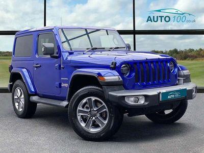 used Jeep Wrangler 2.0 GME Sahara Auto 4WD (s/s) 2dr