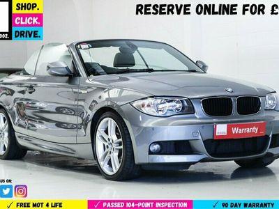 used BMW 120 Cabriolet 2.0 120d M Sport 2dr