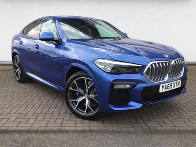 used BMW X6 2019 York xDrive30d M Sport 5dr Step Auto [Tech Pack]