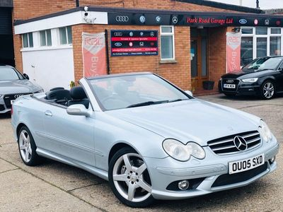 used Mercedes CLK500 CLK 5.0Sport Cabriolet 7G-Tronic 2dr
