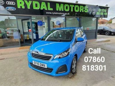 used Peugeot 108 1.0 ACTIVE 5d 68 BHP A VERY LOW MILEAGE AIR CON