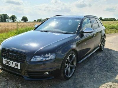 used Audi S4 Avant 3.0 TFSI V6 Black Edition Avant S Tronic quattro 5dr (Nav)
