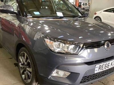 used Ssangyong Tivoli DIESEL AUTOMATIC HATCHBACK 5 DOORS