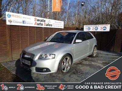 used Audi A3 2.0 TDI S LINE 3d 168 BHP 3-Door
