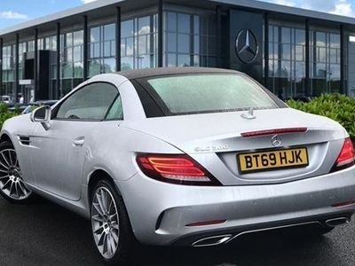 used Mercedes 300 SLC-Class Convertible SLCAMG Line 2d 9G-Tronic