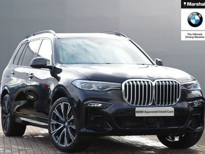 used BMW X7 xDrive30d M Sport 5dr Step Auto diesel estate
