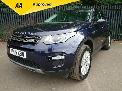 used Land Rover Discovery Sport 2.0 TD4 SE TECH 5d 180 BHP