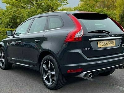 used Volvo XC60 D4 AWD R-Design Lux Nav Manual (Leather, Heated Seats, Cruise Control, Power Drivers Seat) 2.4 5dr