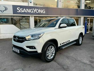 used Ssangyong Musso SARACEN - 3.5 TONNE TOWING - 1 TONNE PAYLOAD 4dr