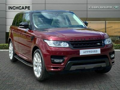 used Land Rover Range Rover Sport 4.4 SD V8 Autobiography Dynamic SUV 5dr Diesel CommandShift 2 4X4 (s/s) (219 g/km, 334 bhp)