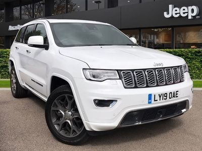 used Jeep Grand Cherokee Grand Cherokee 20193.0 CRD Overland 5dr Auto 2019