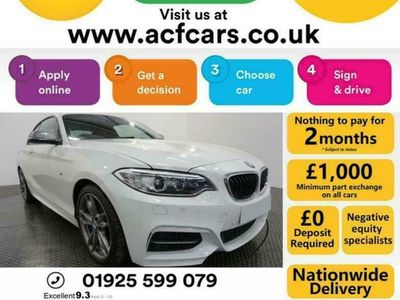 used BMW M240 2 SERIES- CAR FINANCE FR £337 PCM