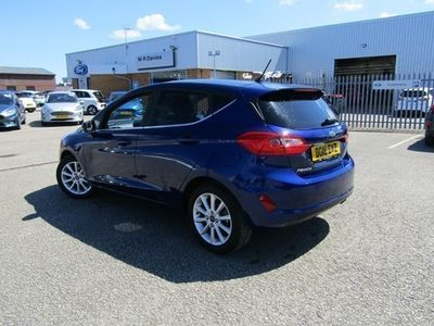 used Ford Fiesta Hatchback Titanium 1.0T EcoBoost 125PS 5d