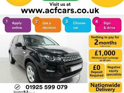 used Land Rover Discovery ED4 HSE - CAR FINANCE FR £321 PCM