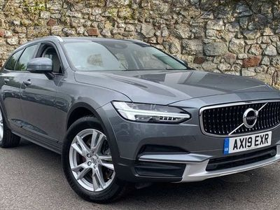 used Volvo V90 CC T5 AWD Cross Country Automatic (HEATED WINDSCREEN, TINTED WINDOWS, SMARTPHONE) 2.0 5dr