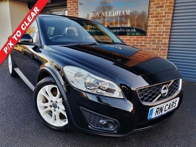 used Volvo C30 1.6 DRIVE SE LUX S/S 3DR 113 BHP