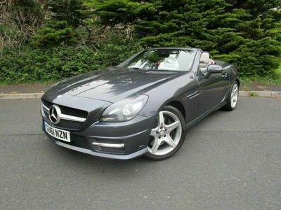used Mercedes SLK200 SLK 1.8BLUEEFFICIENCY AMG SPORT ED125 2d 184 BHP JUST 36,000 MILES & AM