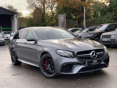 used Mercedes S63 AMG E Class AMG E4MATIC -VATQ - ONE OWNER - 20 INCH FORGED ALLOYS 4.0 5dr