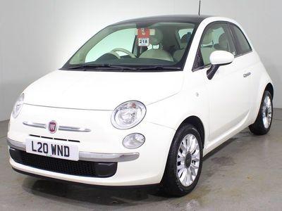 used Fiat 500 1.2 Lounge (s/s) 3dr Hatchback 2014