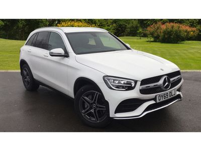 used Mercedes 220 GLC4Matic AMG Line 5dr 9G-Tronic Diesel Estate