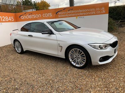 used BMW 420 4 Series 2.0 d Luxury 2dr