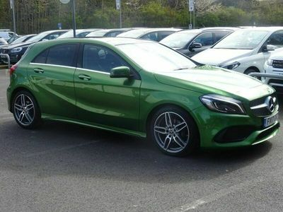 used Mercedes A180 A-Class 1.5D AMG LINE PREMIUM PLUS 5d 107 BHP NAVIGATION WITH REVERSE CAMERA