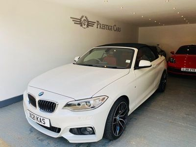 used BMW 218 2 Series 2.0 d M Sport Auto (s/s) 2dr