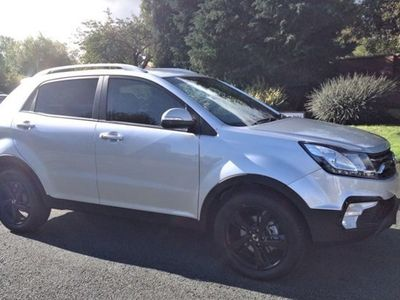 used Ssangyong Korando Hatchback LE automatic 5d